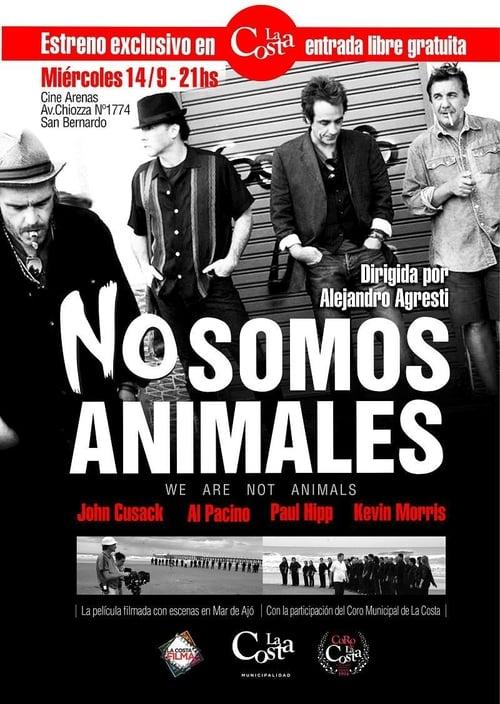 Película No somos animales Doblada En Español