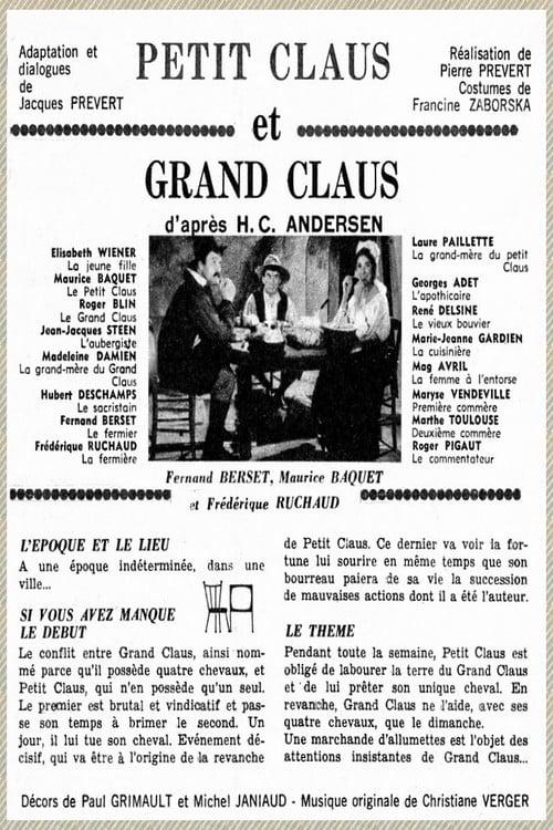 شاهد الفيلم Le petit Claus et le grand Claus باللغة العربية على الإنترنت