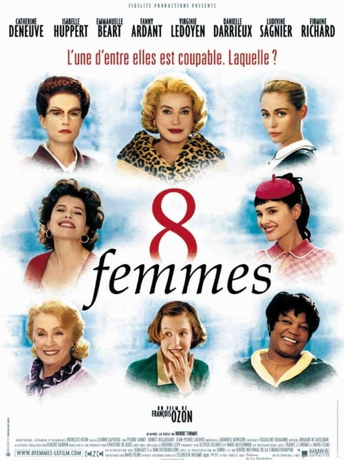 Streaming 8 Women (2002) Movie Free Online