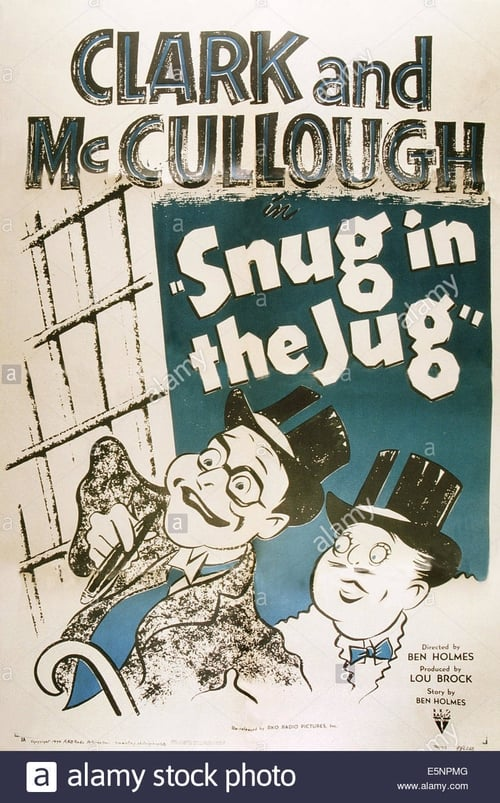 Snug in the Jug (1933)