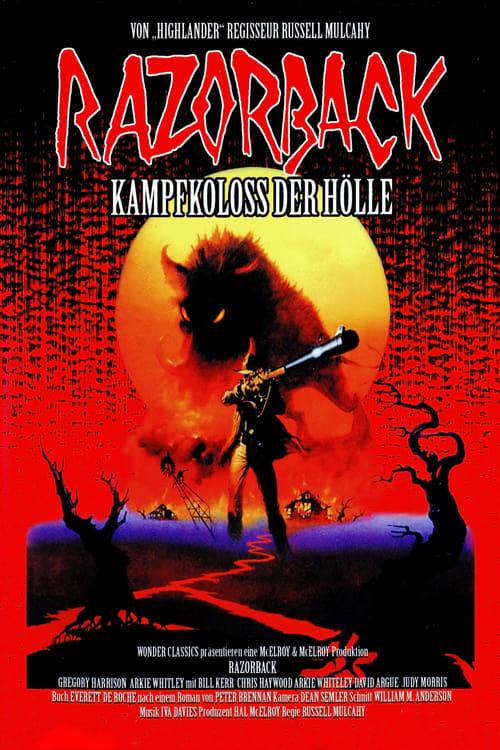 Film Ansehen Razorback - Kampfkoloß der Hölle Kostenlos