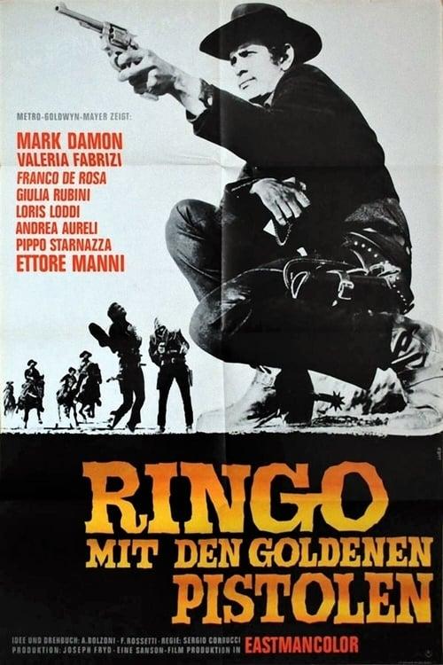 Poster von Ringo mit den goldenen Pistolen