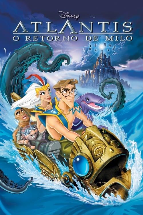 Assistir Atlantis - O Retorno de Milo - HD 720p Dublado Online Grátis HD