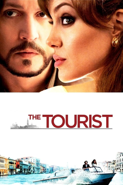 Poster for the movie, 'The Tourist'
