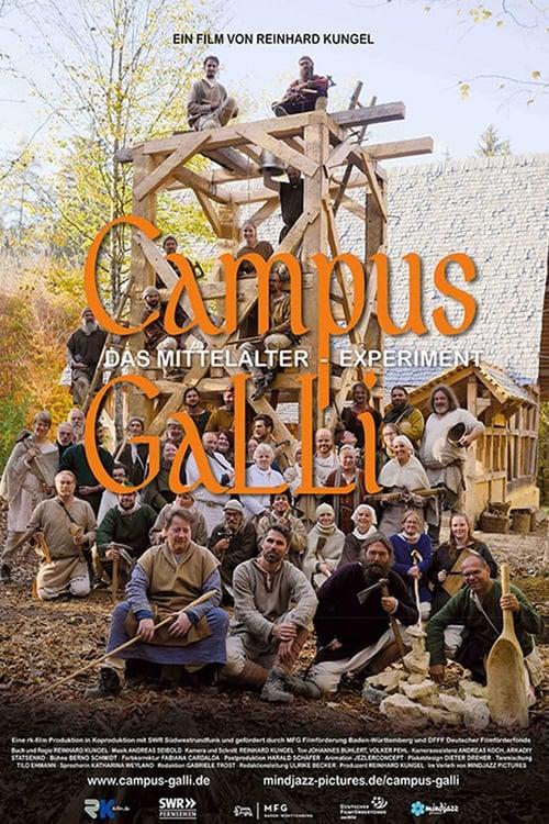 Poster von Campus Galli - Bauen wie im Mittelalter