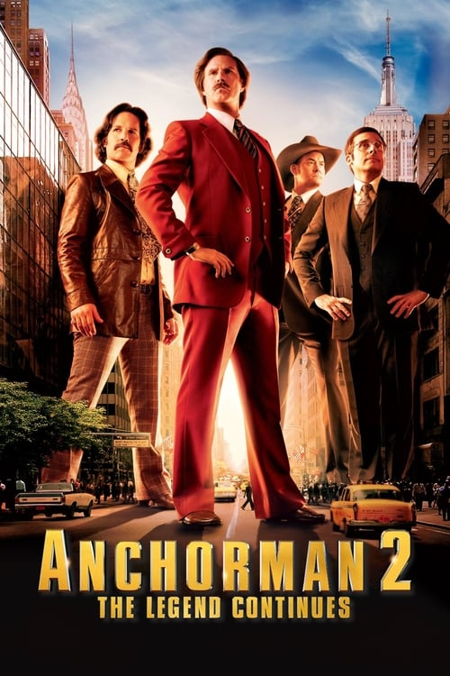 Anchorman 2: The Legend Continues - Poster