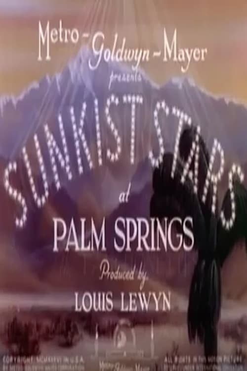 Filme Sunkist Stars at Palm Springs Com Legendas On-Line