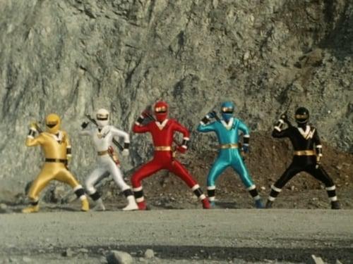Super Sentai 1994 Blueray: Ninja Sentai Kakuranger – Episode American Ninja