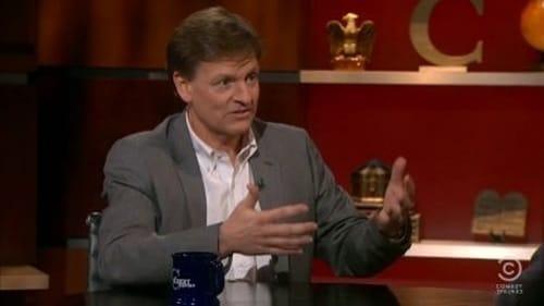The Colbert Report: Season 7 – Episod Leslie Dach, Michael Lewis
