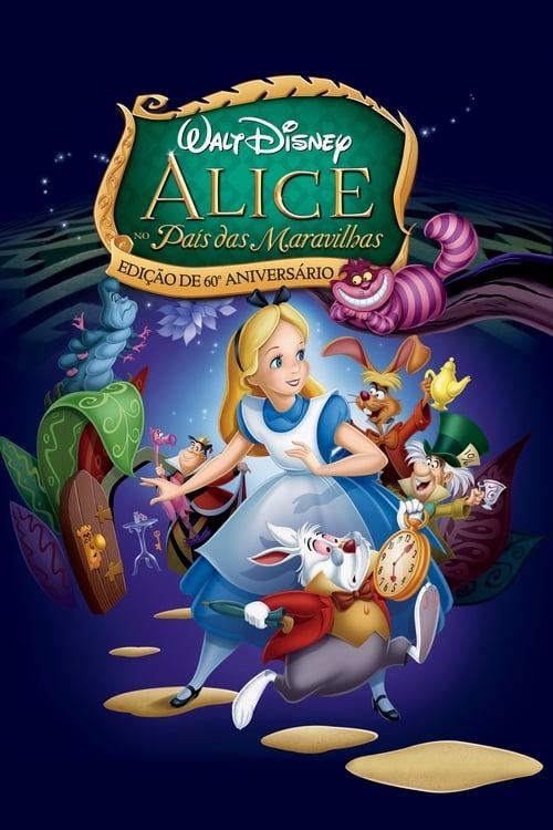 Assistir Alice no País das Maravilhas (1951)  - HD 720p Dublado Online Grátis HD