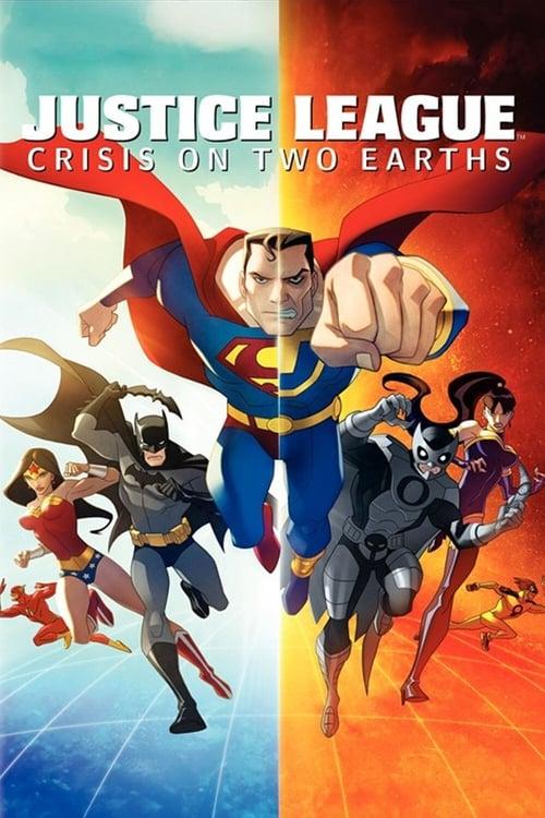 [1080p] La Ligue des Justiciers : Crise sur deux terres (2010) streaming Disney+ HD