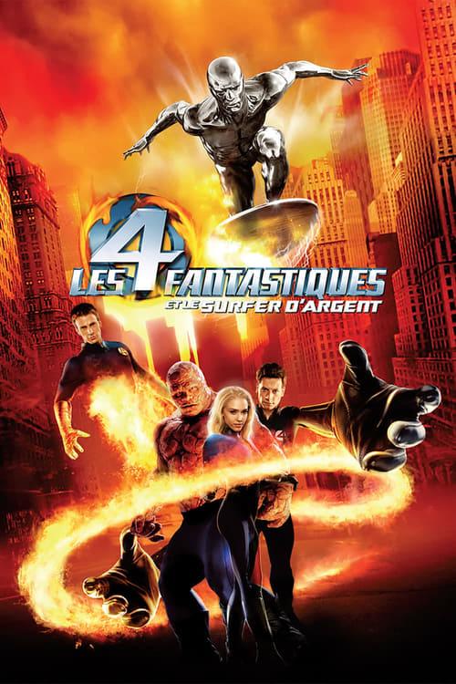 Regarder Les 4 Fantastiques et le Surfer d'argent (2007) streaming