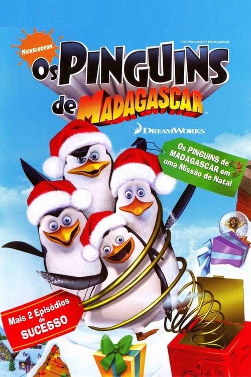 Filme Os Pinguins de Madagascar - Missão de Natal Dublado Em Português
