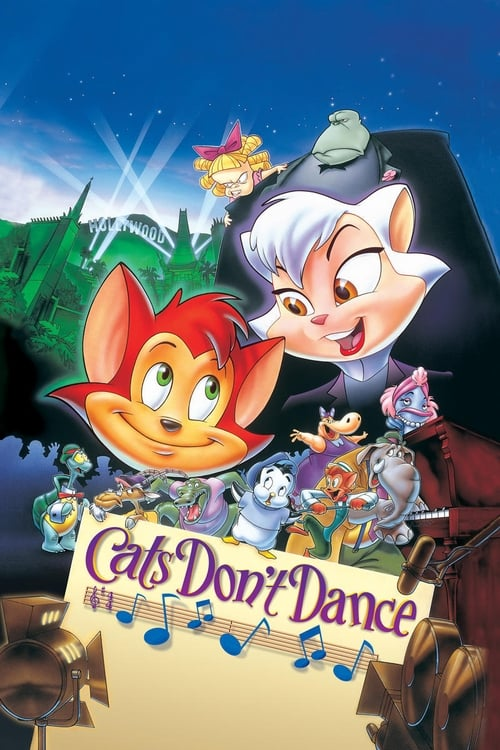 Cats Don't Dance - Poster