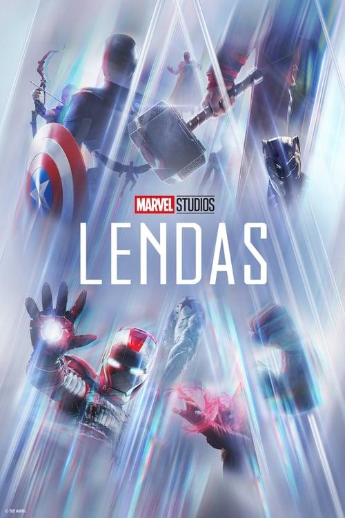 Lendas da Marvel 1ª Temporada Completa 2020 - Dual Áudio / Dublado WEB-DL 720p
