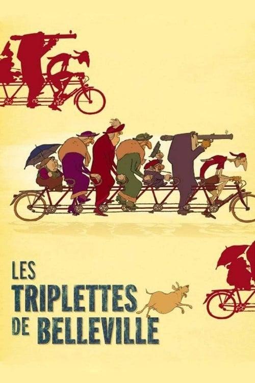 ➤ Les Triplettes de Belleville (2003) streaming openload