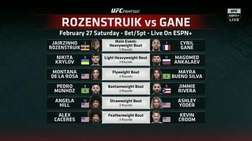 Found on page UFC Fight Night 186: Rozenstruik vs. Gane