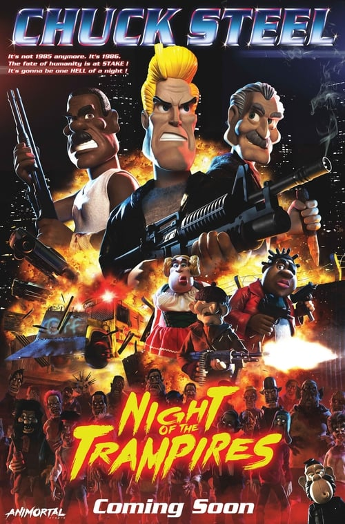 Assistir Filme Chuck Steel: Night of the Trampires Online