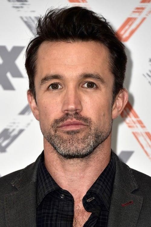 Kép: Rob McElhenney színész profilképe