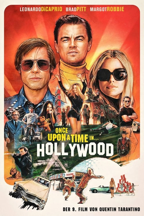 Once Upon a Time… in Hollywood - Poster
