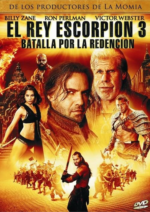 Película El rey Escorpión 3: Batalla por la redención En Buena Calidad
