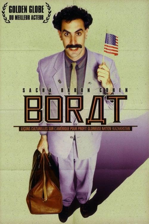 Regarder Borat : Leçons culturelles sur l'Amérique pour profit glorieuse nation Kazakhstan (2006) Streaming HD FR