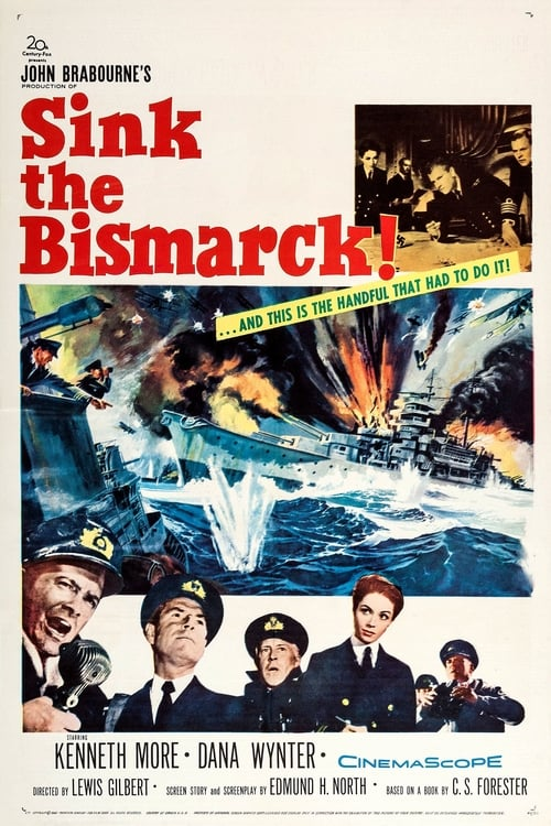 Largescale poster for Sink the Bismarck!