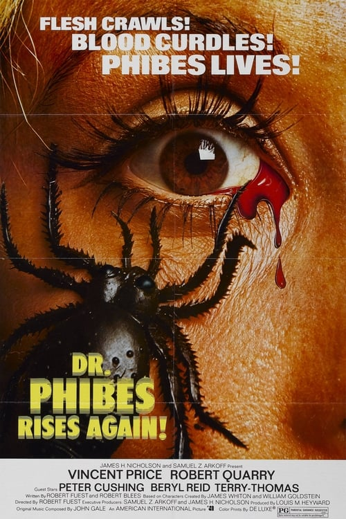 Largescale poster for Dr. Phibes Rises Again