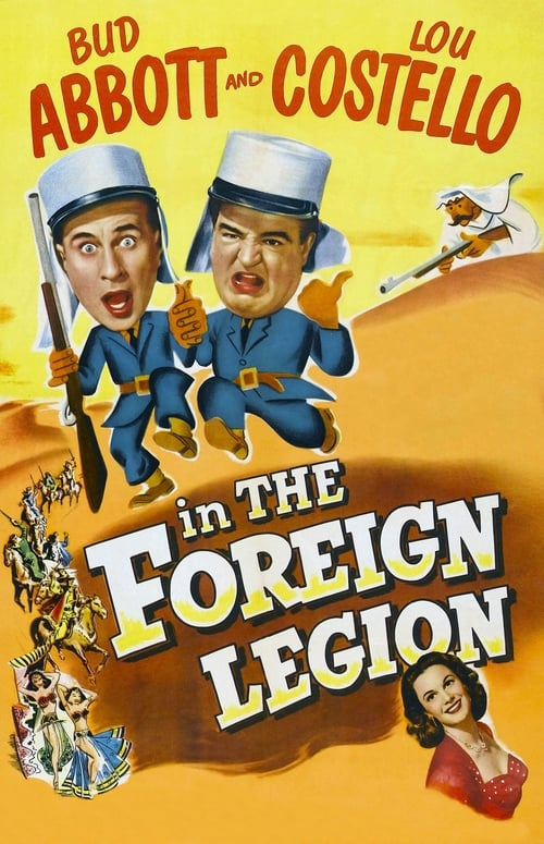 Mira La Película Abbott and Costello in the Foreign Legion Doblada Por Completo