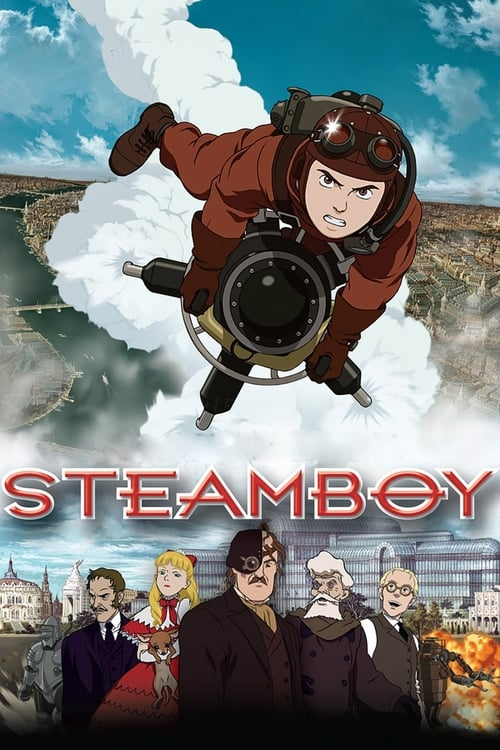 Visualiser Steamboy (2004) streaming