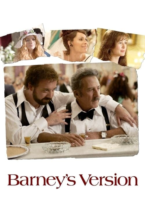 The poster of Barney's Version