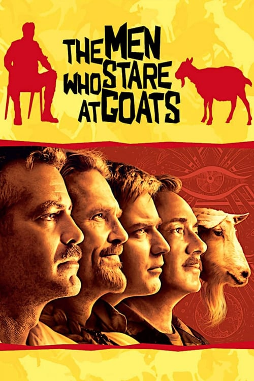 The Men Who Stare At Goats - Poster