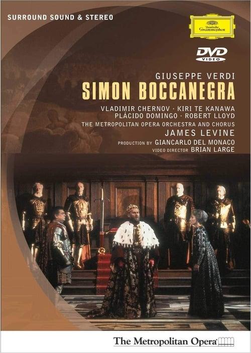 Mira La Película Giuseppe Verdi: Simon Boccanegra Gratis