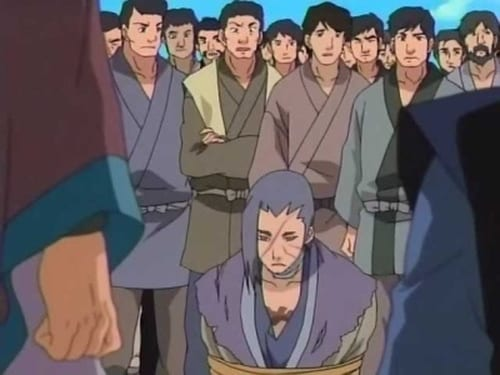 Naruto - Season 4 - Episode 160: Hunt or Be Hunted?! Showdown at the O.K. Temple!