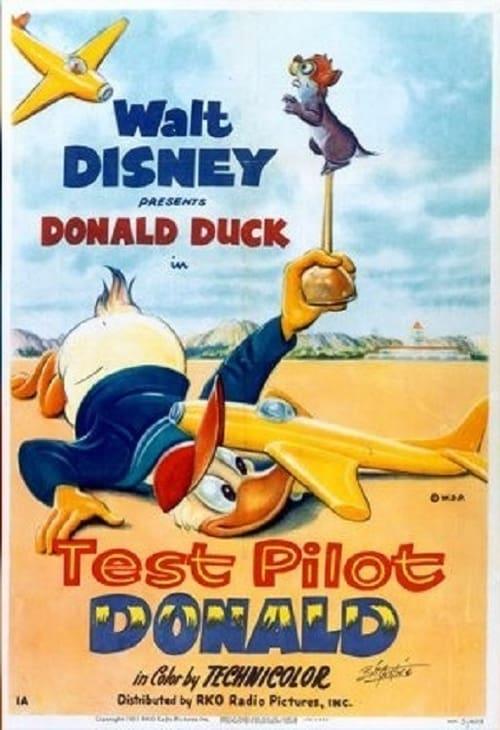 Paperino istruttore di volo