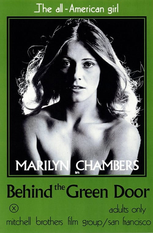 The poster of Behind the Green Door