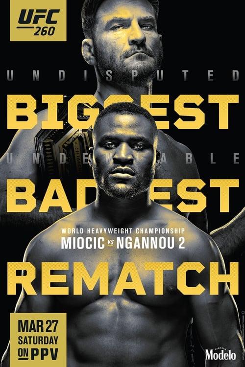 UFC 260: Miocic vs. Ngannou 2 Online ,trailer