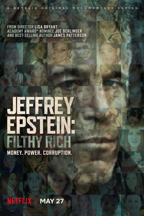 Banner of Jeffrey Epstein: Filthy Rich