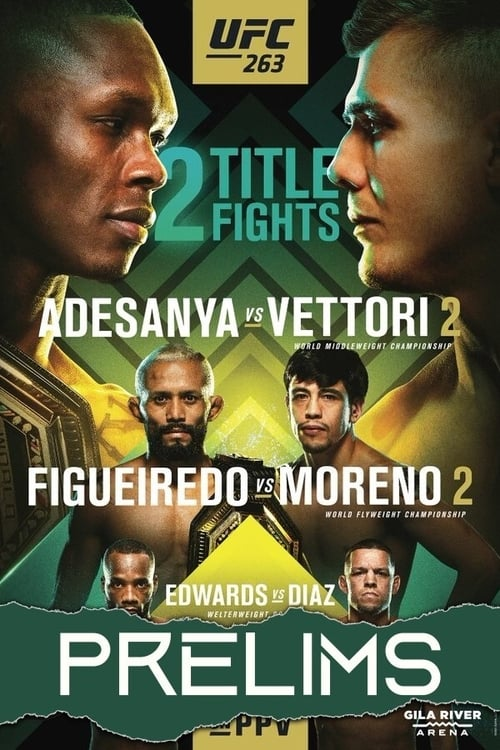 Without Registering UFC 263: Adesanya vs. Vettori 2 - Prelims