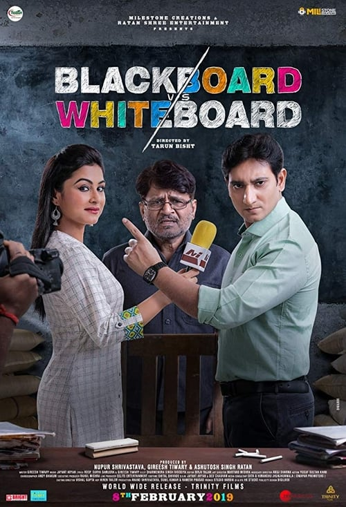 Blackboard vs Whiteboard