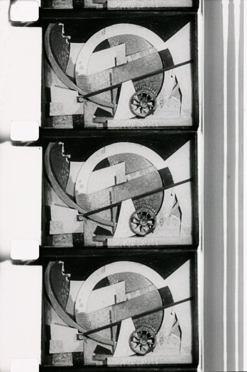La Clef de L'horloge (Poème cinémathographique en l'honneur de Kurt Schwitters) (1958)