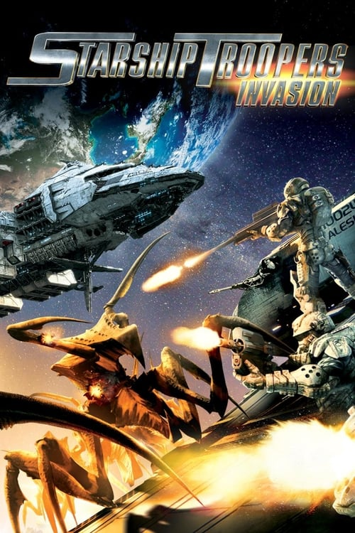 Largescale poster for Starship Troopers: Invasion