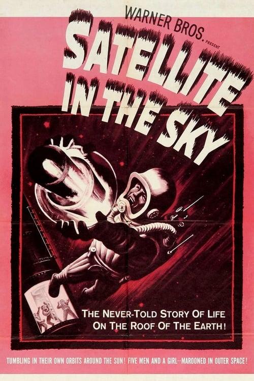 Satellite dans le ciel