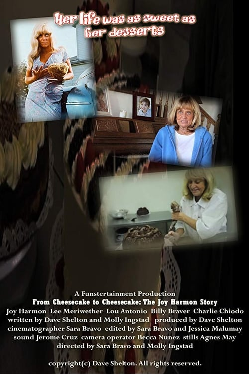 Mira La Película From Cheesecake to Cheesecake: The Joy Harmon Story En Buena Calidad Hd 1080p