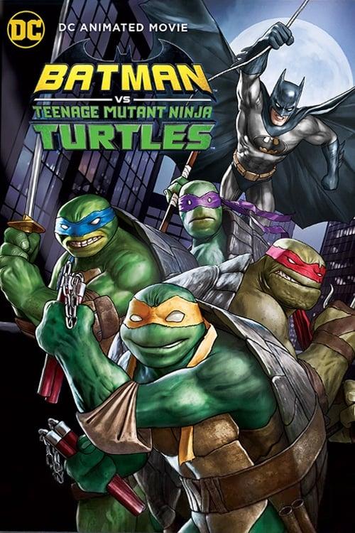 Batman vs. Teenage Mutant Ninja Turtles Poster