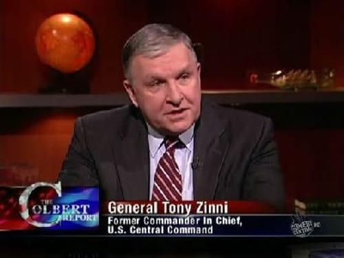 The Colbert Report: Season 5 – Episod General Anthony Zinni