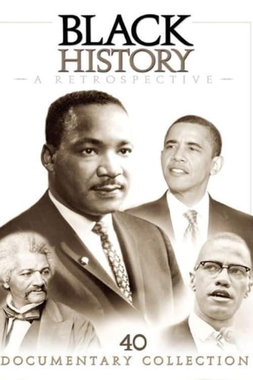 Black History: A Retrospective poster