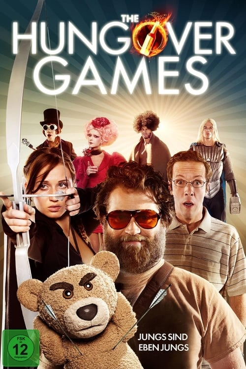 Poster von The Hungover Games