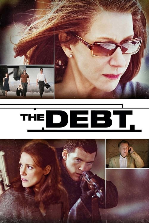 Poster for the movie, 'The Debt'