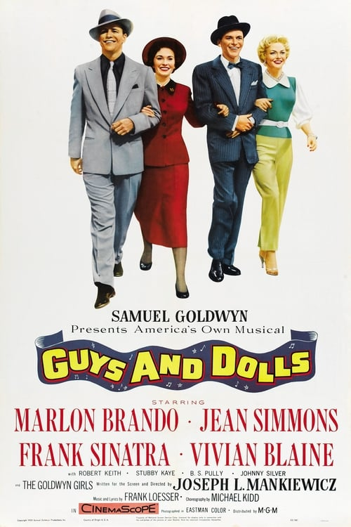 Largescale poster for Guys and Dolls